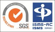 ISMS(ISO27001)認証マーク
